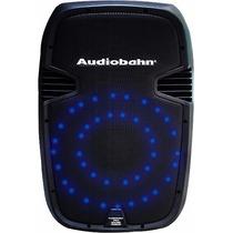Bafle Recargable De 15 Con Hyper Leds Azules Audioritmicos.
