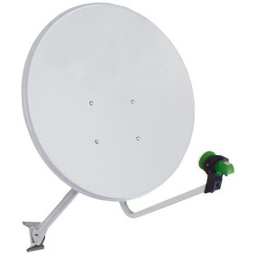 Antena 60 Cm Banda Ku Satelite Nova Otima Qualidade
