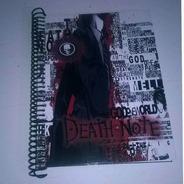 Death Note Cuaderno Personalizado. (espirales Plasticos)