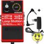 Pedal Boss Rc 1 Loop Station Roland + Fonte - Loja Kadu Som