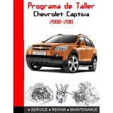 Manual De Taller Captiva 2008 Original De La Gm Ingles
