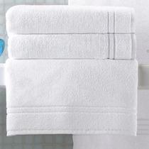 Toalha De Banho Santista Profissional Hotelária Branca