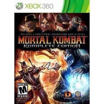 Mortal Kombat Komplete Edition Português Mídiafísic Xbox 360
