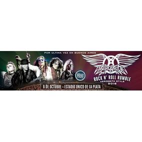 Entradas Aerosmith Campos Vip Ultimos!!