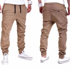Pantalon Sudadera Khaki Fashion Casual Jogger Dance Sportwea