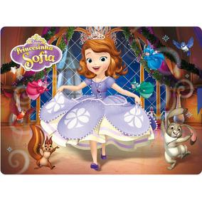 Painel Princesa Sofia 1,02x0,70m, Princesa, Minnions, Peppa