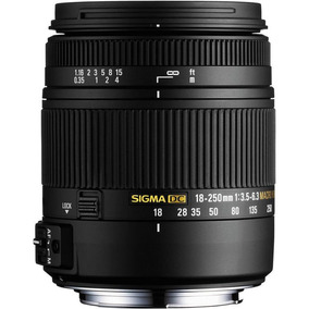 Sigma Lente 18-250mm F3.5-6.3 Dc Os Hsm Macro/para Canon