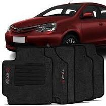 Jogo Tapetes Carpete Toyota Etios Etios Sedan 4mm