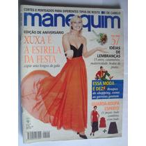 Revista Manequim Ago 96 Xuxa É A Estrela Desta Festa