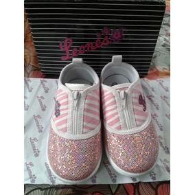 Zapatos De Niñas Leones Del Caracas. Talla 22