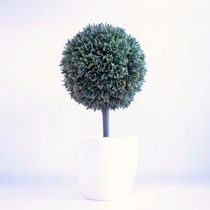 Topiario Árbol Esfera Con Maceta De Acrilico Moderno