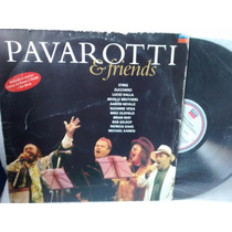 Lp Pavarotti E Friends With Sting Aaron Neville Brian May