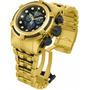 Relógio Invicta Zeus Cronografo Plaque Ouro Ref 12737