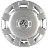 Jogo Calota Prata Aro 13 Volkswagen Gol Parati Gl 98 Pressão