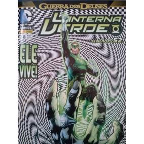 Hq Lanterna Verde Guerra Dos Deuses - Ela Vive. Nº 38