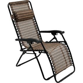 Cadeira Sevilha Reclinável 21 Posições Praia E Piscina Mor