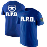 Camisa Camiseta Resident Evil R.p.d Police Detective Patrol