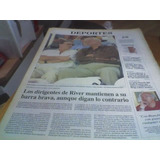 Diario Perfil 12d River Financian Barra Brava