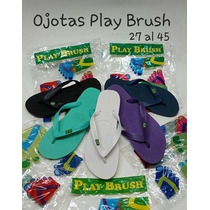 Ojota Play Brush Tipo Havaianas 35 Al 46 (envio Gratis *)
