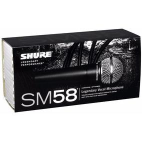 Microfone Dinâmico Shure Sm58-lc - Ac0969