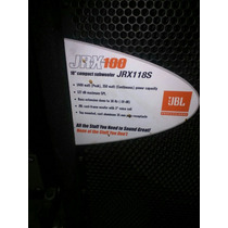 Cajones Jbl 18 Jrx 100
