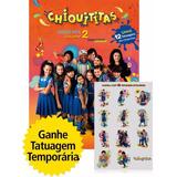Chiquititas Video Hits-vol. 2-dvd Digipack+tatuagem-frete10