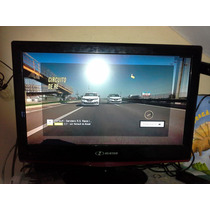 Tv Lcd Hbuster 22 Pol. - Troco Por Máq. De Lavar E Games