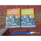 Antiguo Folleto Publicitario Camiones Chevrolet 1934