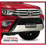 Protector Frontal Paragolpe Toyota Hilux 2016 2017 Original