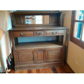 Aparador Para Living Y Cocina En Madera - Muebles Antiguos en ...