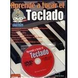 Aprende A Tocar El Teclado Revista+dvd+canciones