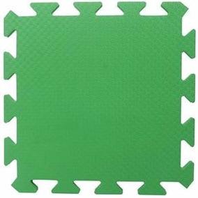 Tatame Eva Verde Bandeira 50x50x1cm 10mm