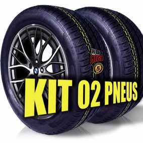 Kit 2 Pneu 225/50 R17 Remold Desenho Michelin 5 Anos Gtia