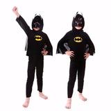 Roupa Fantasia Batman + Roupa Fantasia Homem Aranha Infantil