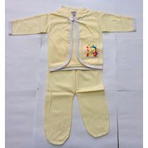 Conjunto Pagão Para Bebê Com 3 Peças Unissex - Bruno Baby
