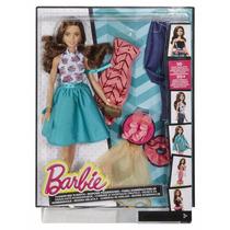 Brinquedo Boneca Barbie Fashion Modas E Estilo Djw57
