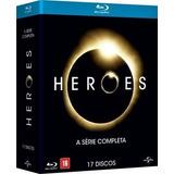 Box Blu-ray Heroes - Coleção Completa - 17 Discos - Lacrado