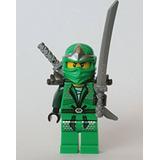 Juguete Lego Ninjago - Lloyd Zx (verde Ninja) Con Armadura