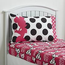 Minnie Mouse Set Doble Bedsheet