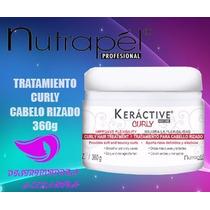 Tratamiento Curly Nutrapel Keractive 360gr Cabello Rizado