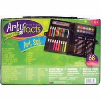 Set De Arte Darice, 68 Piezas - Pintura, Pastel, Dibujo- New