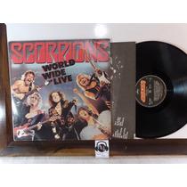 Lp - Scorpions - World Wide Live Capa Simple/dois Lps - 1985