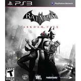 Batman Arkham City + Gatubela Ps3
