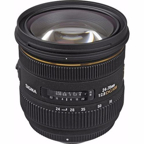 Sigma 24-70mm F2.8 Ex Dg Hsm Para Nikon - Temos Loja Física