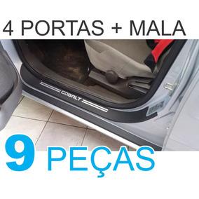 Soleiras Super Protetoras Chevrolet Cobalt + Soleira Da Mala