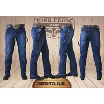 Calça Jeans King Farm Carpenter Blue