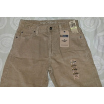 Pantalon Docker Original Caballero Jean Pana Marron 30x32