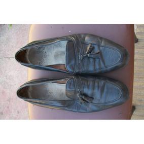 Zapato Hombre Usado Tipo Mocasin Talle 38/39