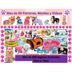 Kit Patrones Ropa Para Perros Disfraces Camas Sillones 2019