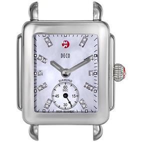 Cabeza Del Reloj Del Acero Mw06v00a0046 Deco 16 Diamante-ac